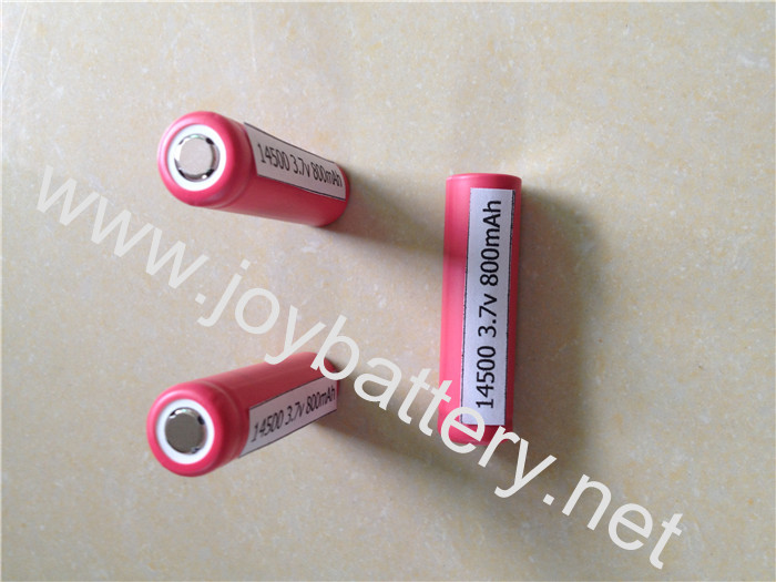 Authentic Sanyo 14500 800mAh battery, Sanyo UR14500P 3.7V 800mAh in stock,AA sanyo ur14500p,14650,16650,18500